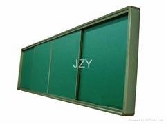 復合式推拉綠板
