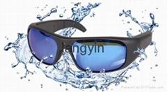 Waterproof Full HD 1080P Sports Sunglasses Camera with internal memory 8G/16G/32