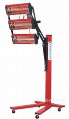 红外线烤漆灯 3灯头烤灯 机械控制出口  烤灯