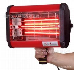 手持式红外线烤漆灯 便携式烤漆灯 加热固化灯 镀膜热贴