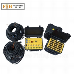 180 cues wired control happiness pyrotechnic firing system