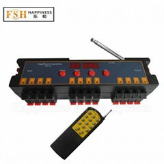 CE,RoHS passed easily programmable 12 channels fireworks firing system