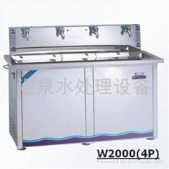 豪華型四龍頭溫熱飲水機