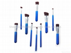 Cosmetic Brush Set - 10 pcs High Quality