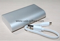 Hotsales OEM 6000mAh  powerbank  portable mobile charger  for smartphone
