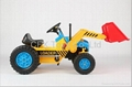 high quality children ride on toy truck mini excavator pedal car 2