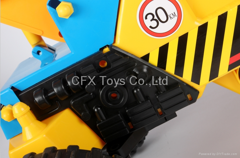 best price 4 wheel car for sale baby car small toy digger 3