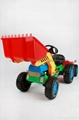 child tricycle toy car small excavator toy with bucket 4