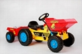 kids pedal car ride on toy mini dumper truck 3
