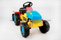 mini car kis pedal car toy trailer truck go kart car 411 2