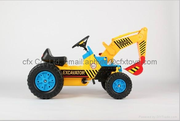 best price 4 wheel car for sale baby car small toy digger 2