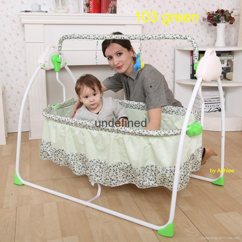 Fashionable Rc Electric Baby Rocker Baby Swing Bed Baby