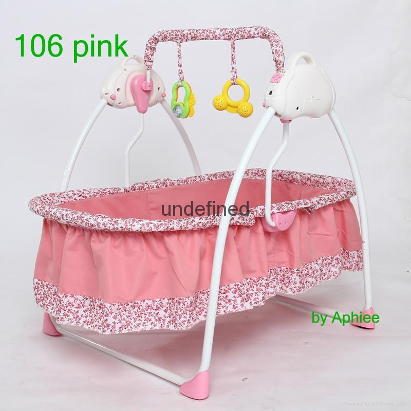 & electrical baby swing bed music baby rocker baby cot bed crib baby