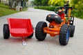 China toys kids ride on car toy car mini tractor toy crane trailer 417 4