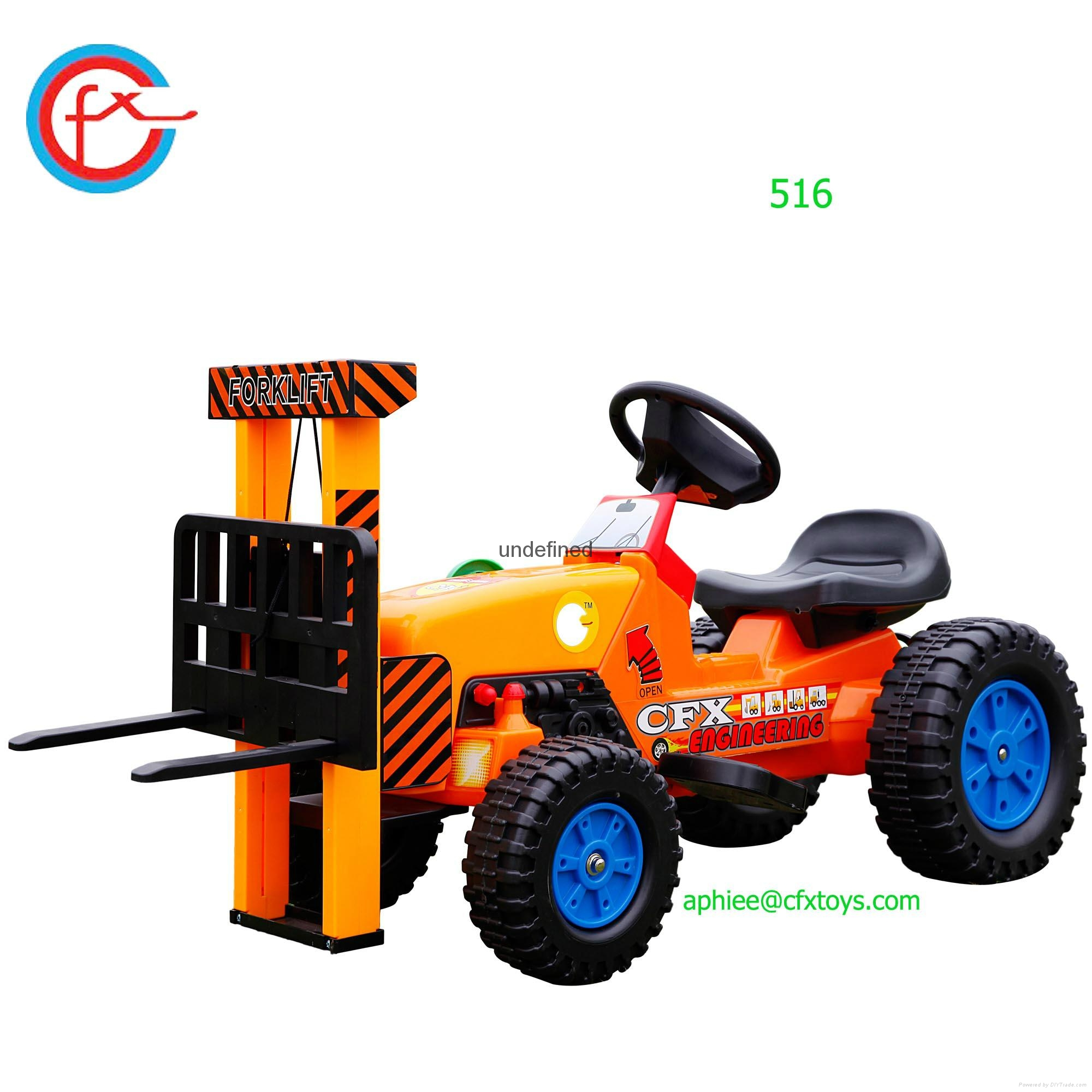 Car Toys Product : Electrical toy car for child to ride on mini forklift
