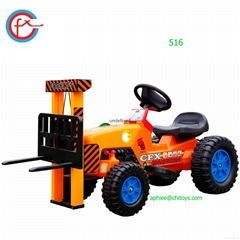 electrical toy car for child to ride on mini toy forklift 516