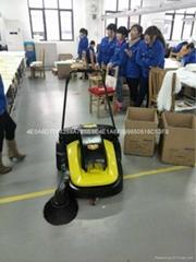 工廠地面灰塵專用電動掃地車