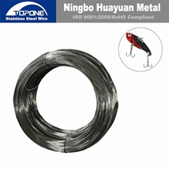 Topone Stainless Steel Fishhook Wire, SS Fishhook Wire