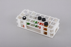 Vial racks/shelf of all kinds vials bottles