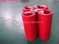 木地板紅膠輸送帶