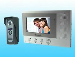 4.3 inch ip color video door phone intercom home security