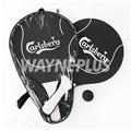 Carlsberg Wooden Beach Rackets Set 040101 1