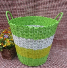 Dad Qsbaba dab hand Hand-woven basket of laundry basket