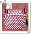 The elliptical shape storage basket three-piece three-dimensional pattern