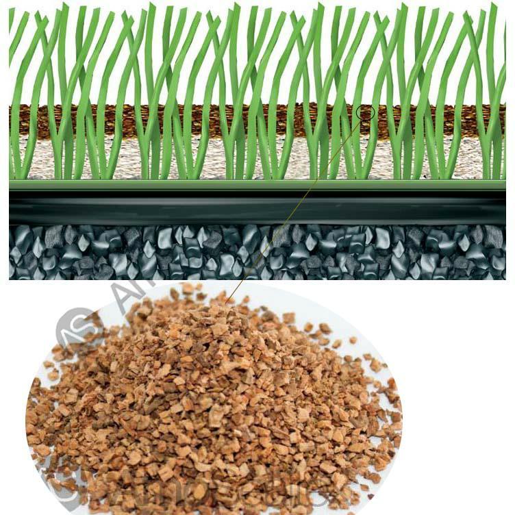 足球场人造草坪填充颗粒 2