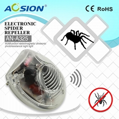 Ultrasound And electromagnetic pest repeller and spider repeller