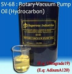 Rotary Vacuum Pump Oil: SV-68 (Hydrocarbon)