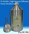High Vacuum Silicone Diffusion Pump Oil: