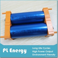 Rechargeable 3.2V 10Ah Cylindrical Lifepo4 Battery Cell 38120