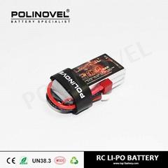 11.1V 1300mAh 25C Lipo RC drone battery