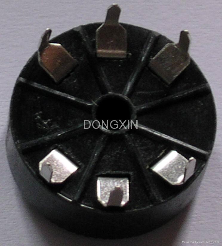 GZS6-1型膠木六腳管座
