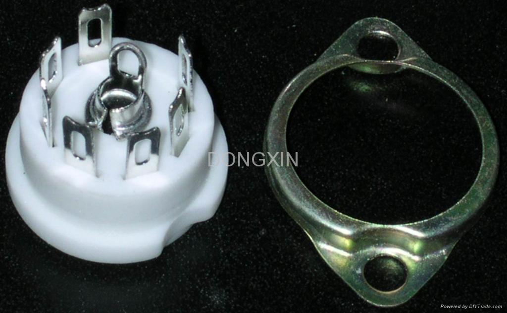GZC7-F(GZC7-F-G) 7-pin ceramic socket