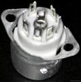 GZC7-F-B 7-pin ceramic socket
