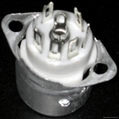 GZC7-F-B型瓷质七脚管座