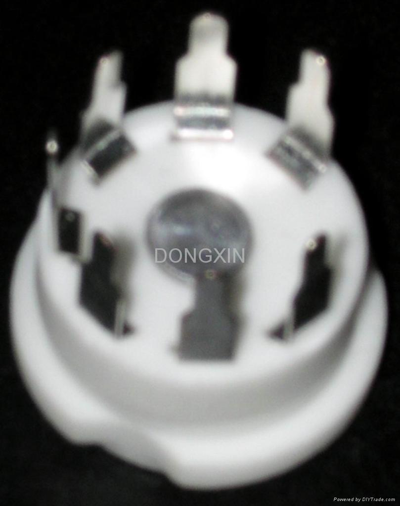 GZC7-Y(GZC7-Y-G)型瓷质七脚管座 1