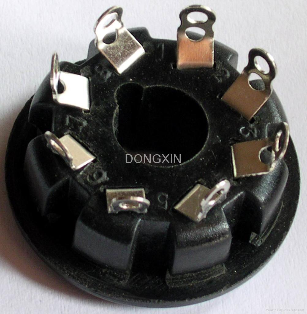 S8WPI(S8WPI-G) 8-pin bakelite socket