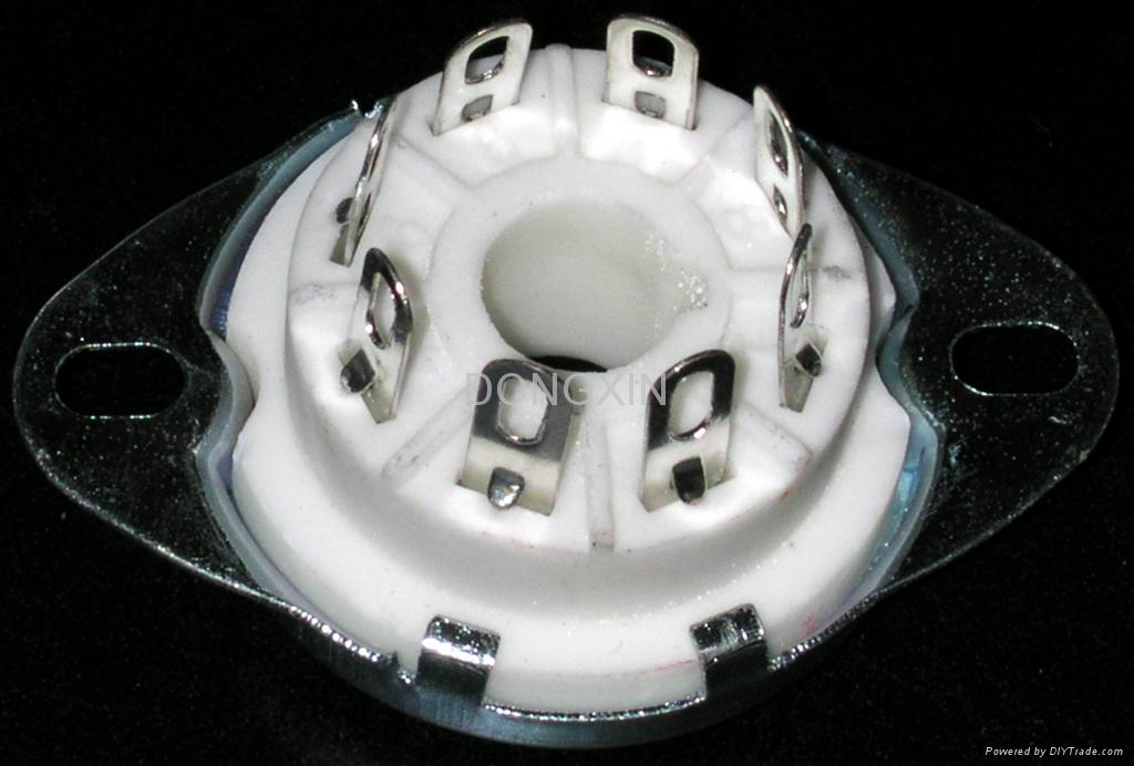 GZC8-Y-3(GZC8-Y-3-G)型瓷质八脚管座 1