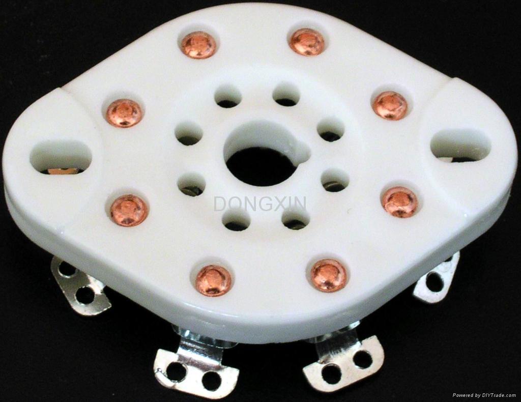 GZC8-NS(GZC8-NS-G)型瓷质平板八脚管座 1
