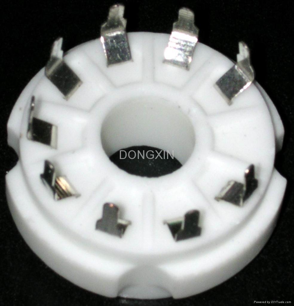 GZC9-Y-2(GZC9-Y-2-G) 9-pin ceramic socket