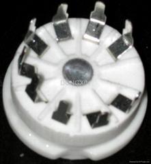 GZC9-Y(GZC9-Y-G)型瓷质新九脚管座