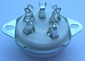GZC5-C-1(GZC5-C-1-G) 五脚陶瓷管座 2
