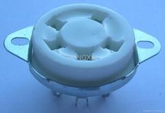 GZC5-C-2(GZC5-C-2-G) 五腳陶瓷管座