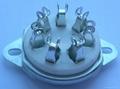 GZC7-C-2(GZC7-C-2-G) 7-pin ceramic tube socket