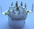 GZC9-F-Y3(GZC9-F-Y3-G) 9-pin ceramic tube socket