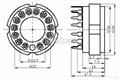 GZC14-Y(GZC14-Y-G) 14脚陶瓷管座 3