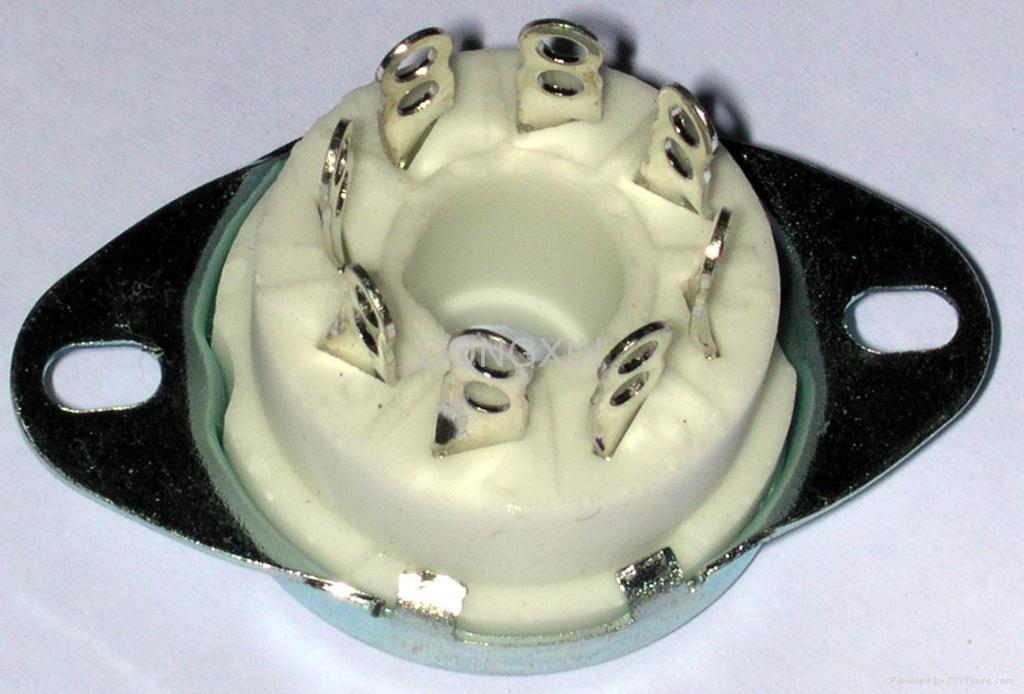 GZC8-1-A(GZC8-1-A-G)型瓷质新八脚管座 1